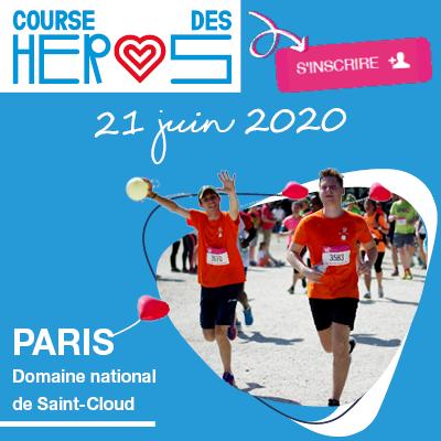 Courrez pour L'ENVOL à la Course des Héros 2020 !