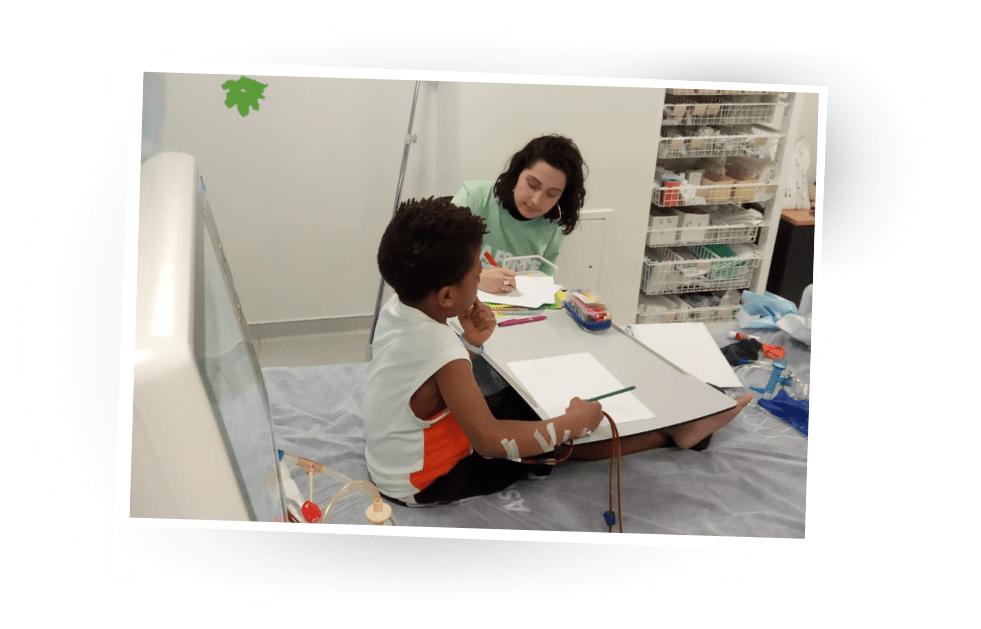 Envolote pendant sa dialyse